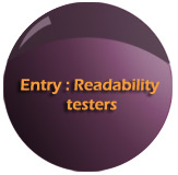 Entry readability testers DPMI