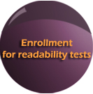 Enrollment for readability testes; DPMI